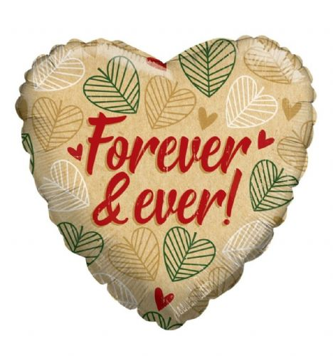 ECO ONE Balloon - Forever and ever Leaves (18 inch)
